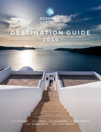 Catálogo Azamara Cruises