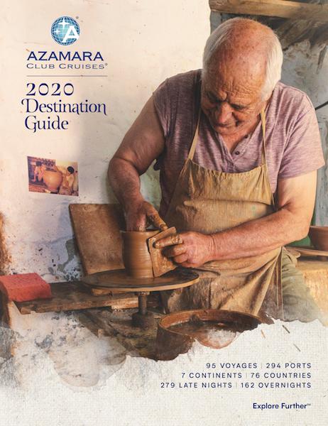 Catálogo Azamara Cruises 2020