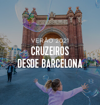 Verão 2021 - Cruzeiros desde Barcelona
